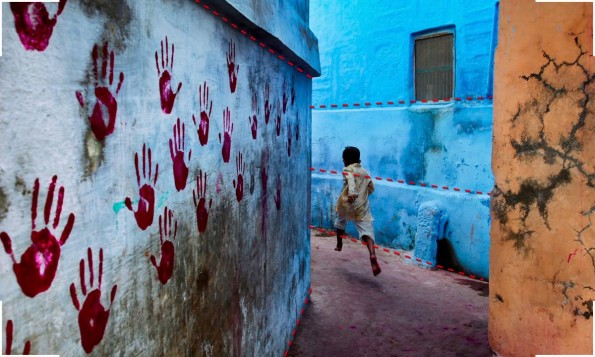 Perfekte Fotos: 3. Diagonale. (Screenshot: Cooperative of Photography. Original: Steven McCurry)