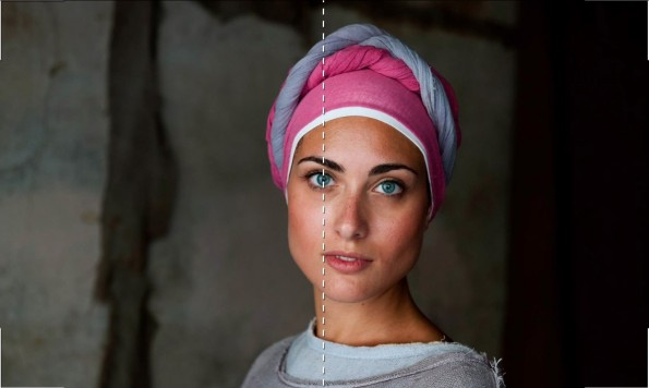 Perfekte Fotos: 7. Auge ins Zentrum. (Screenshot: Cooperative of Photography. Original: Steven McCurry)