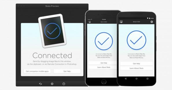 Skala Preview ermöglicht verlustfreie Voransichten am Smartphone. (Bild: Bjango)