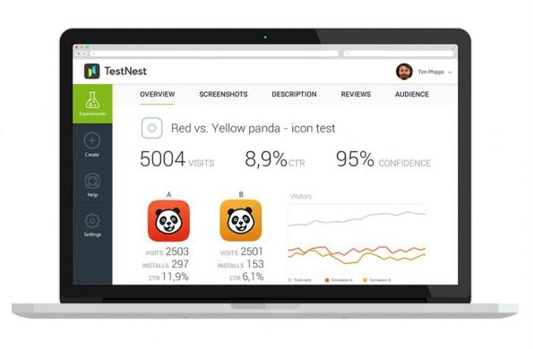TestNest ermöglicht A/B-Tests von iOS-Apps. (Bild: TestNest)