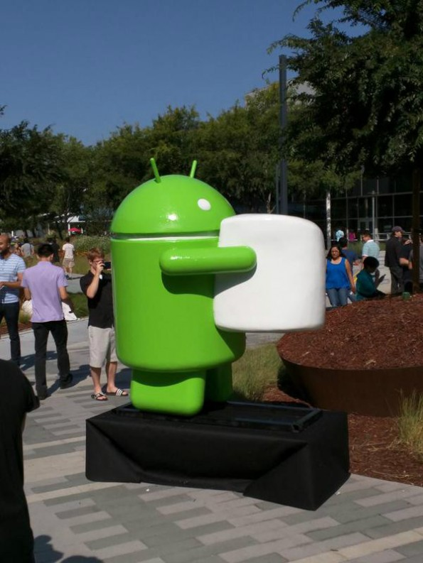 Google: Android M bekommt den Beinamen Marshmallow. (Foto: Brandon Jones/Twitter)