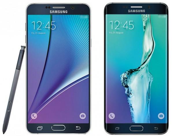 Leak: Samsung soll Galaxy Note 5 und S6 Edge Plus Mitte August vorstellen. (Foto: @evleaks/Twitter)