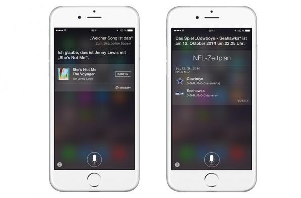 Siri könnte bald auch für euch ans Telefon gehen. (Screenshot: Apple.com)