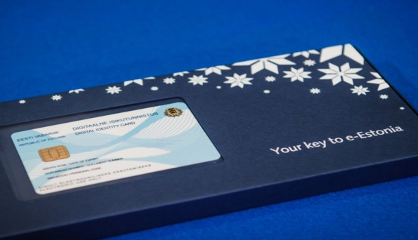 Mit dieser E-Residency-ID können ausländische Unternehmen ihre Geschäfte einfach und effizient abwickeln. (Foto: e-estonia.com)