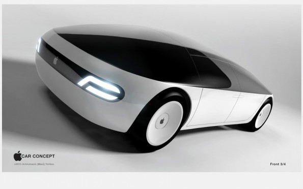 Designkonzept: So könnte das iCar aussehen. (Bild: menithings/Freelancer.com)