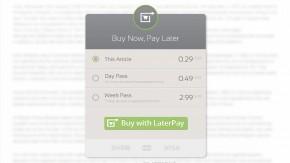 Inhalte verkaufen mit nur einer Zeile Code: Laterpay startet Connector