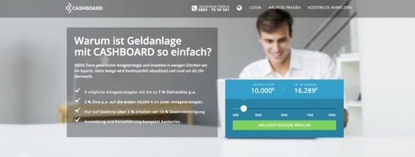 Startup-News: Das FinTech-Startup Cashboard hat die Höhe seiner Seed-Finanzierung verkündet.