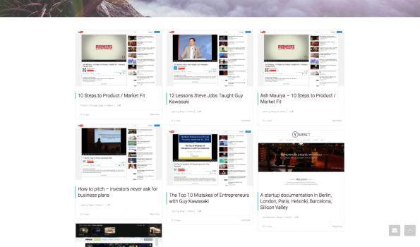 """Mehr als 1.000 Links, Tuturials und Tipps für Gründer hält die Website """"StartupWings"""" bereit. (Screenshot: t3n)"""
