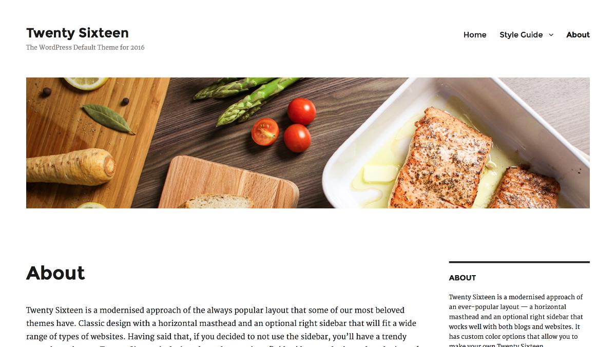 Schön schlicht: Twenty Sixteen wird das neue Standard-Theme für WordPress