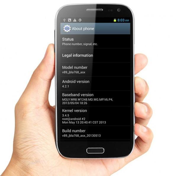 Auch dieses Android-Smartphone soll mit vorinstallierter Malware in den Handel gelangt sein. (Foto: Star)