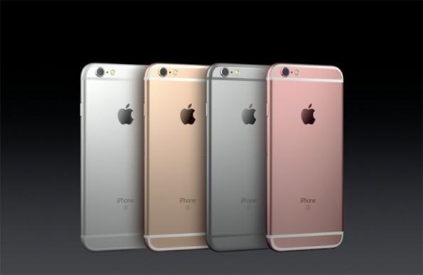 Das neue iPhone 6S und iPhone 6S Plus gibt es jetzt auch in Roségold. (Quelle: Apple)