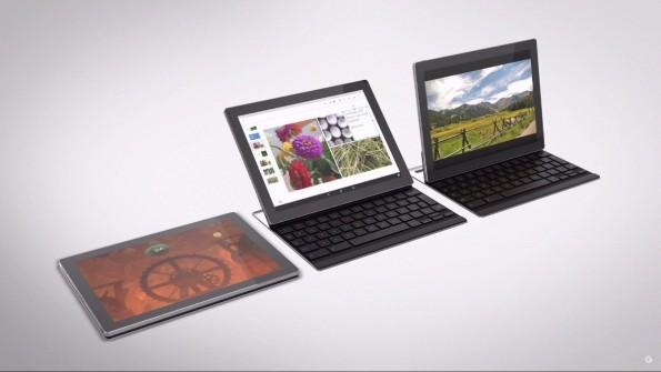 Das Pixel C ist ein Detachable – das Tablet kann von der Tastatur getrennt werden. (Screenshot: youtube.com/google)