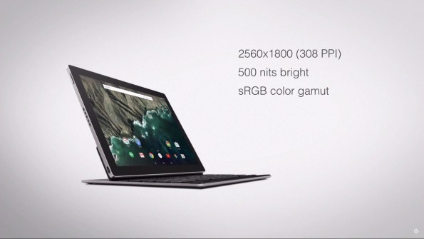 Das Pixel C hat ein 10,2-Zoll-Display und soll ab 500 Dollar erhältlich sein – ohne Tastatur.