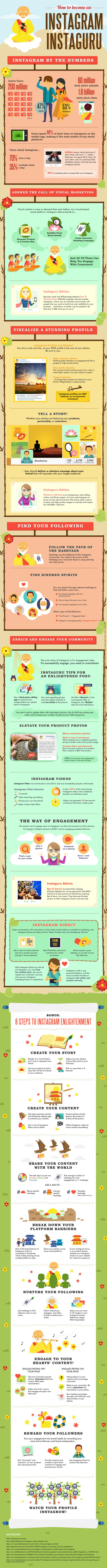 """Instagram-Marketing: 29 Tipps für mehr Engagement. (Quelle: <a href=""""http://www.jeffbullas.com/2015/01/10/29-tips-on-how-to-succeed-with-your-instagram-marketing-infographic/"""">Jeff Bullas</a>)"""
