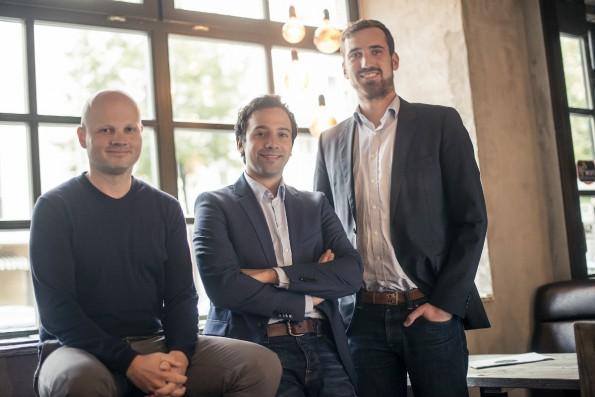Die Gründer und Geschäftsführer von Resmio. (Foto: Resmio)