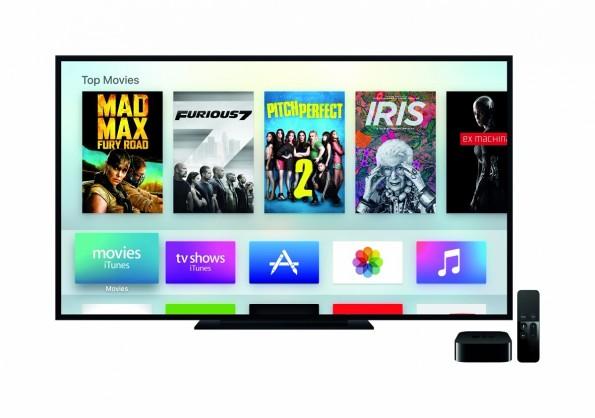Apple TV: Entwickler können ab sofort eigene Apps für tv OS schreiben. (Grafik: Apple)