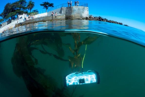 Unterwasser-Drohne: Mit diesem schicken Flitzer sollt ihr die Meere unsicher machen können. (Foto: OpenROV)