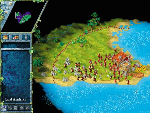 Land erobern und halten, Städte errichten:Die Siedler hat eigentlich jeder Windows-Nutzer gespielt. (Screenshot: PC-Games)