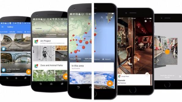Google Street View ist ab sofort als App für Android und iOS verfügbar. (Bild: Google)