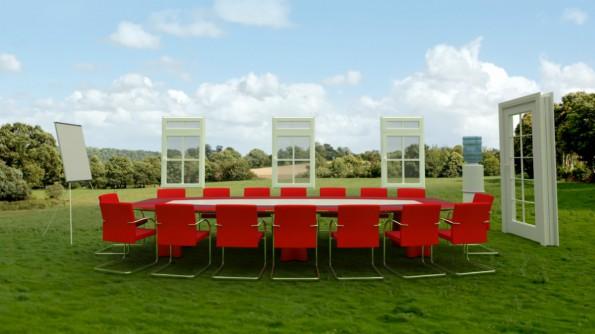 Meetings an der frischen Luft setzen Beine und Kreativität in Gang. (Foto: Shutterstock)