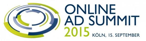 Offizielles Pre-Event zur dmexco 2015: Das Online Ad Summit. (Grafik: Online Ad Summit)