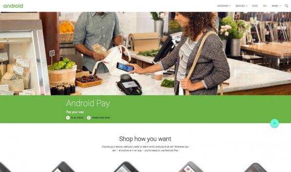 Analog zu Apple Pay versucht sich auch Android Pay an der Etablierung eines physischen und digitalen Bezahlsystems. (Screenshot: t3n)