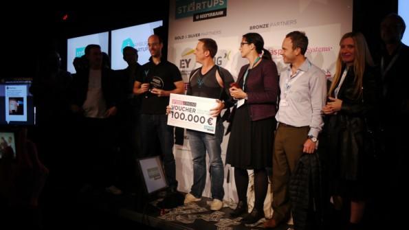 Das Fitness-Startup Antelope Club gewinnt den Pitch zum Auftakt des Reeperbahn Festivals. (Foto: t3n)
