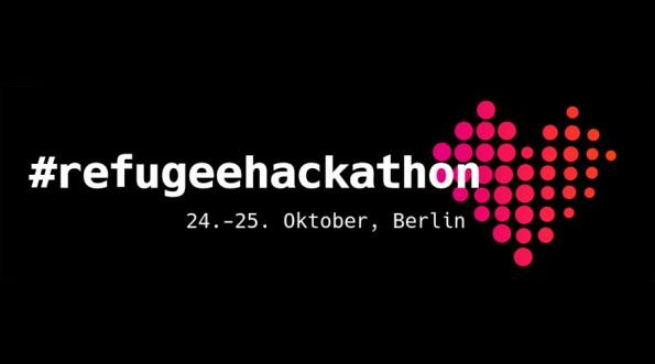 Der Refugee-Hackathon findet vom 24. bis 25. Oktober 2015 in Berlin statt. (Grafik: refugeehackathon.de)