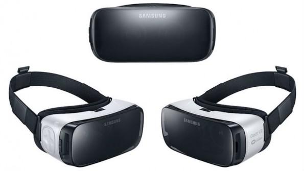 Die verbesserte Version des Samsung Gear VR-Headsets verwandelt mit Hilfe von Oculus jedes Samsung-Smartphone in ein Virtual Reality-Gerät. (Bild: Samsung)