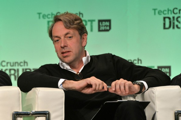 Startup-News: Klaus Hommels auf der TechCrunch Disrupt. (Foto: Flickr)