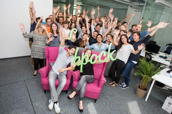 Das Shpock-Team in Wien. (Foto: Shpock)