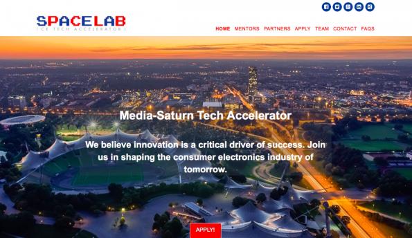 Mit dem Spacelab sollen Startups in die Ladengeschäfte der Media-Saturn-Gruppe einziehen. (Screenshot: t3n)