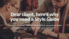 4  Gründe für einen Style-Guide (… euer Team wird es euch danken)