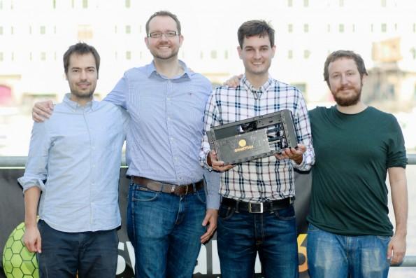 Das Gründerteam von Swarm64. (Foto: Presse)