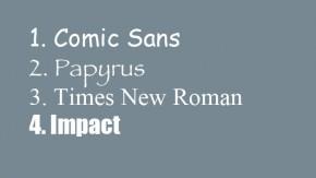 Unbeliebt, aber interessant: Die Geschichten hinter den unpopulärsten Schriftarten der Welt