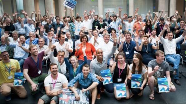 Erfolgreicher Hackday der HypoVereinsbank in Kooperation mit Burda. (Foto: HypoVereinsbank)
