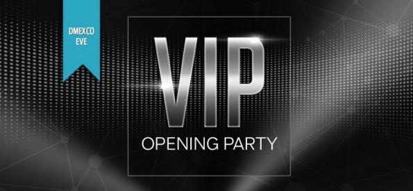 Die VIP Opening Party auf der dmexco 2015. (Grafik: Dmexco)