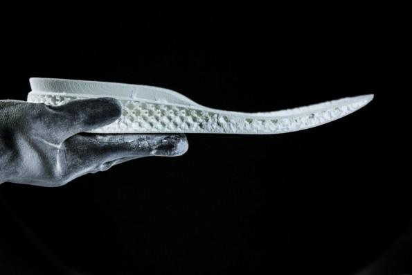 Mit 3D-Drucker: Adidas will Sportlern perfekt angepasste Laufschuhe liefern. (Bild: Adidas)