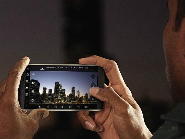 Mit dem LG V10 sollen sich schicke Videos aufnehmen lassen. (Foto: LG)