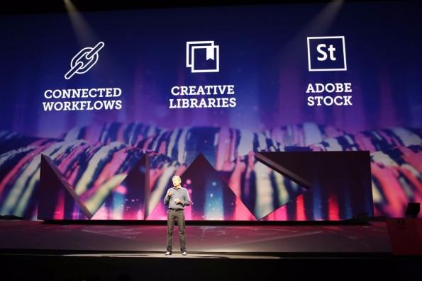 Die Keynote der Adobe MAX 2015. (Foto: t3n)