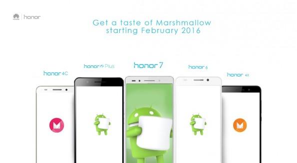 Für das Honor 7 wurde ein Marshmallow-Update bestätigt. (Bild: Honor)