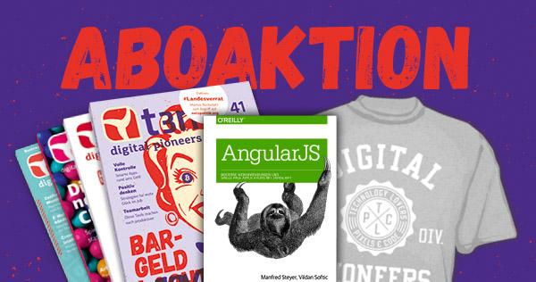 """Abo-Bundle für Webentwickler: Buch """"AngularJS"""" von O'Reilly gratis!"""