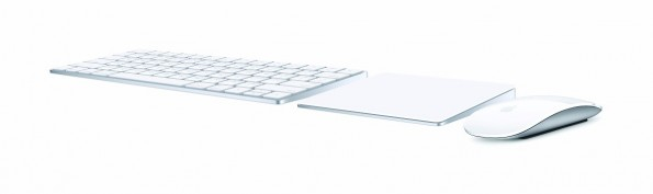 Magic Keyboard, Magic Trackpad 2 und Magic Mouse 2: Apple stellt neue Eingabegeräte vor. (Grafik: Apple)