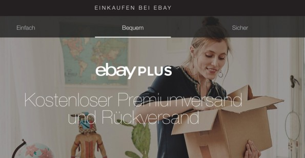 (Screenshot: eBay Plus)