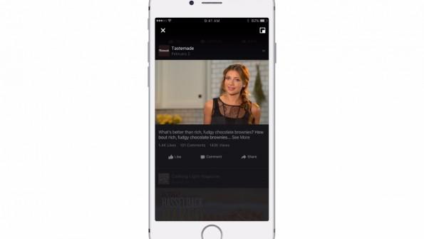 Faceboook testet unter anderem einen eigenen Videobereich. (Grafik: Facebook)