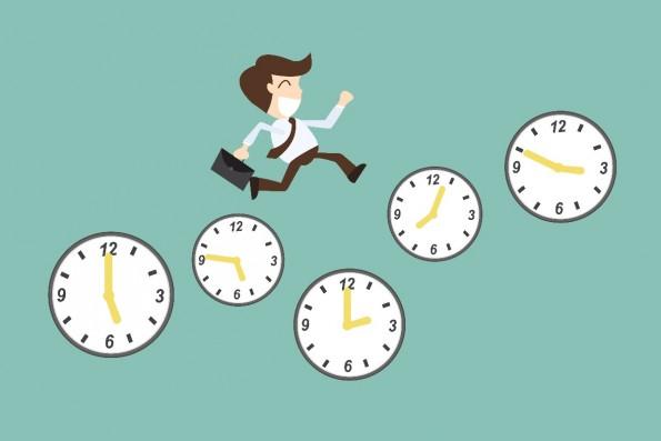 Produktiver und motivierter durch flexible Arbeitszeiten? Forschungen zeigen, dass das geht. (Grafik: Shutterstock-BoBaa22)