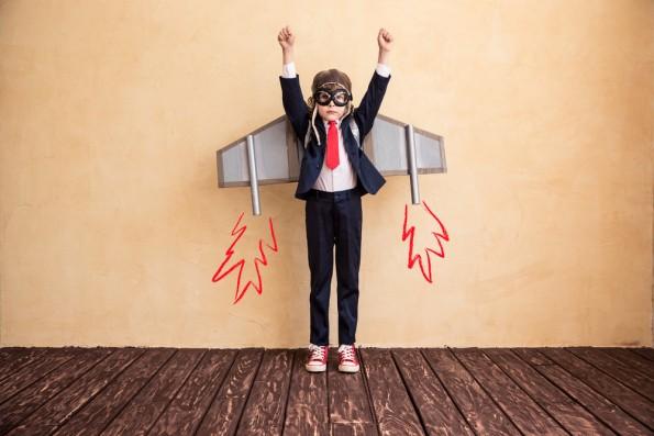 """Erfolg von Haus aus: """"Nur wer eine gewisse Sicherheit im Rücken hat, kann über Tiefschläge hinwegsehen!"""" (Bild: Shutterstock-Sunny studio)"""