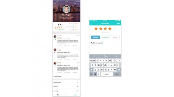 Peeple will eine Bewertungsplattform für Menschen werden. (Screenshot: Peeple)