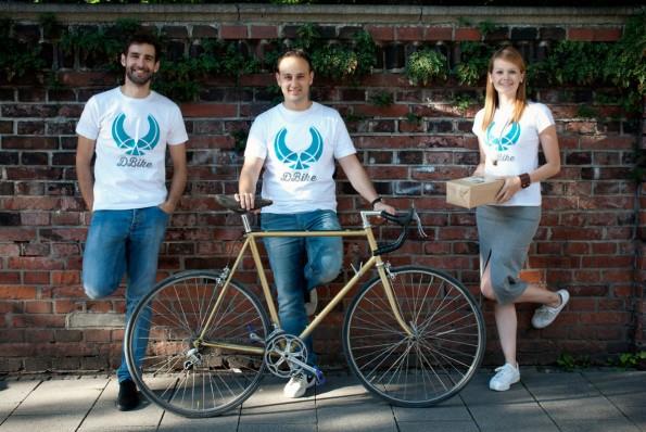 Das Gründerteam von DBike. (Foto: Presse)