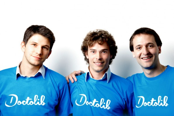 Das Gründerteam von Doctolib. (Foto: Presse)